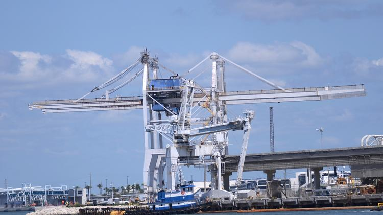 Port Canaveral is undergoing some pretty big changes. And big changes need big tools.