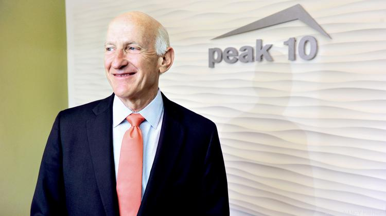 David Jones, CEO and co-founder of Peak 10