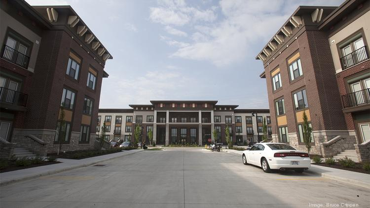 The Boulevard at Oakley Station is one of the largest new luxury apartment projects to open in Greater Cincinnati.