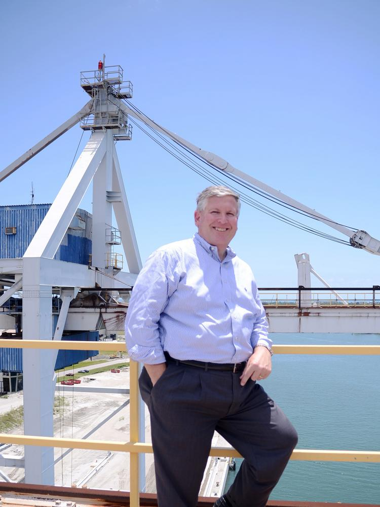Port Canaveral CEO John Walsh is overseeing the massive expansions coming to the port.