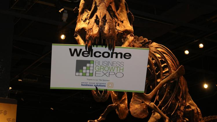 Orlando Business Journal's Business Growth Expo kicked off at 3 p.m. at Orlando Science Center on May 21.