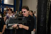 Richard Hatch, actor, during Celebrity Laser Tag at a past Comicpalooza