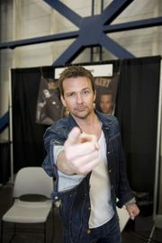Sean Patrick Flanery, actor, pictured at a past Comicpalooza