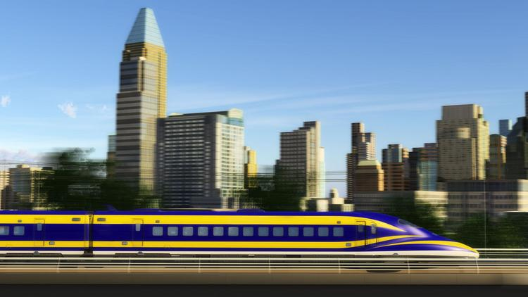 The California High-Speed Rail Authority has asked rail manufacturers to submit interest letters for an initial order of up to 95 sets of engines and cars.