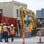 It's official: Kansas <strong>City</strong>'s streetcar construction is underway