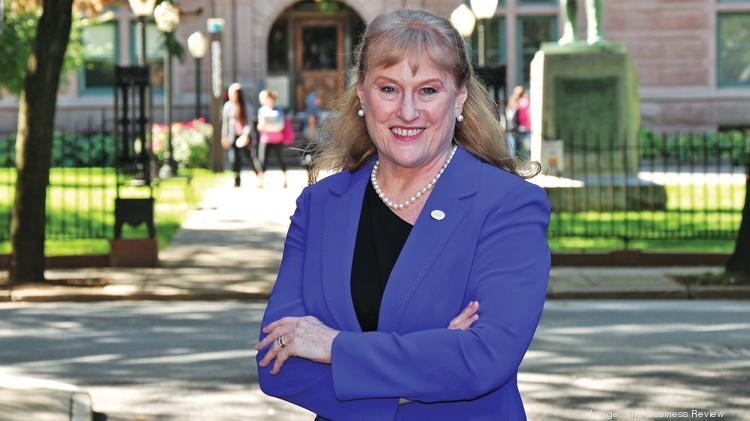 Susan Scrimshaw is president of The Sage Colleges which has campuses in Albany and Troy, New York.