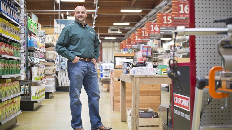 Richard Maltsbarger is president of Orchard Supply, which went bankrupt last year and then was bought by Lowe's.