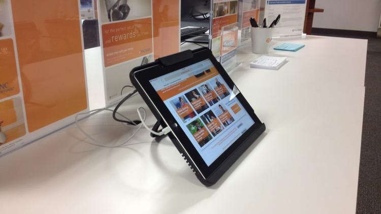 PNC has updated its technology offerings at branches in Dublin and Lewis Center.