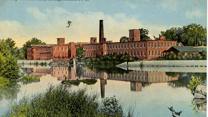 The Rocky Mount Mills, established in 1818, was the state's second cotton mill. Now empty, the mill will be converted into the state's first craft beer incubator.