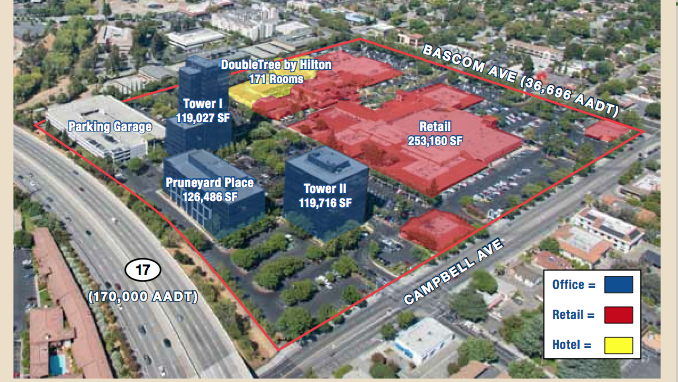 The Pruneyard, a Silicon Valley mixed-use gem, hits the market for ...