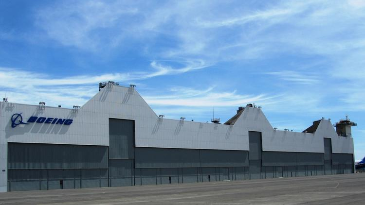 Boeing has upgraded its Moses Lake complex, partly to prepare for flight testing.