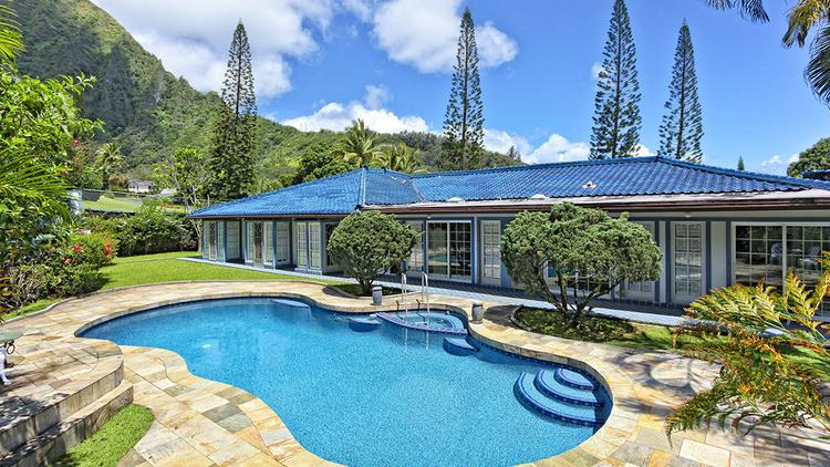 An analysis of MLS data by Coldwell Banker Pacific Properties found that fewer homes sold for $1 million or more in April than during the same month last year, primarily because of low inventory. This home in the Haiku Plantation area of Kaneohe in Windward Oahu is listed for $2.15 million.