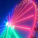 Capital Wheel lights up National Harbor on opening night (Video)