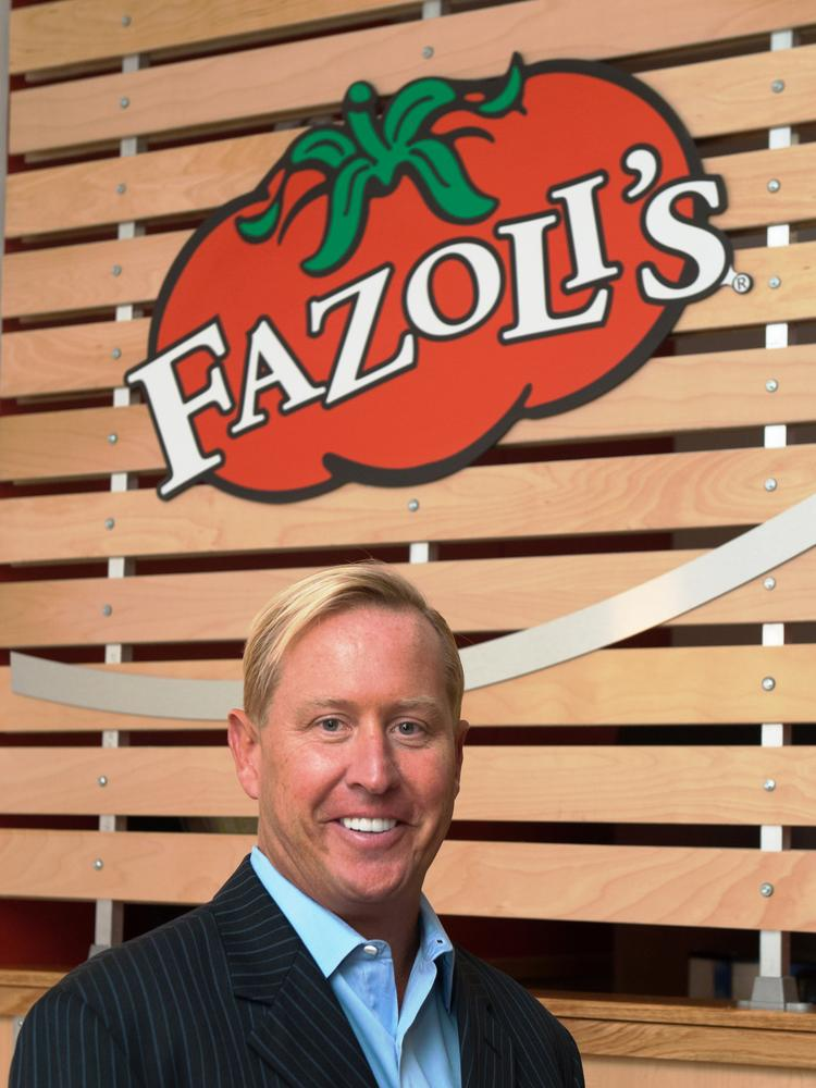Kettering native Carl Howard is president and CEO of Fazoli's.