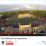 Ohio Machine uses drone as ultimate fan cam