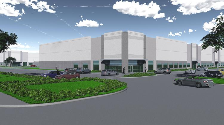 Transwestern will break ground this summer on two spec buildings in Katy.