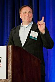 Rich Doyle, co-founder of Harpoon Brewery, was the keynote speaker at the BBJ Pacesetters 2013 Select 70 awards breakfast.