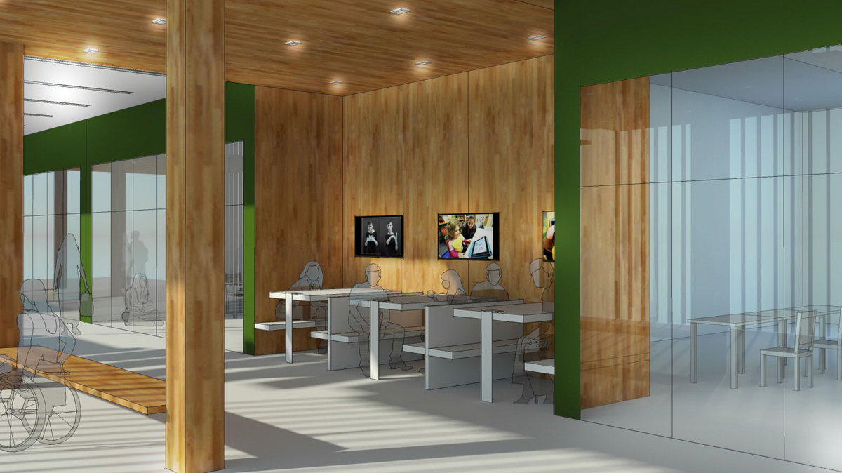 Green Construction Gets Starring Role In Portland Design Firms Western Oregon University Project Photos