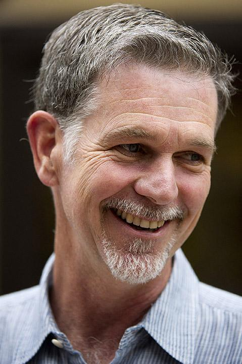 The Silicon Valley Business Journal has chosen Netflix CEO Reed Hastings as the publication's Executive of the Year. Netflix and Amazon have an uneasy partnership while competing for customers.