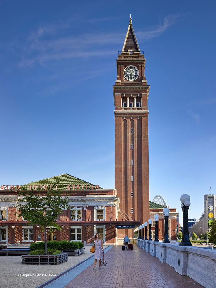 For the first time, office space is being offered for rent in Seattle's King Street Station.