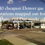 10 cheapest Denver-area gas stations mapped out for Memorial Day weekend