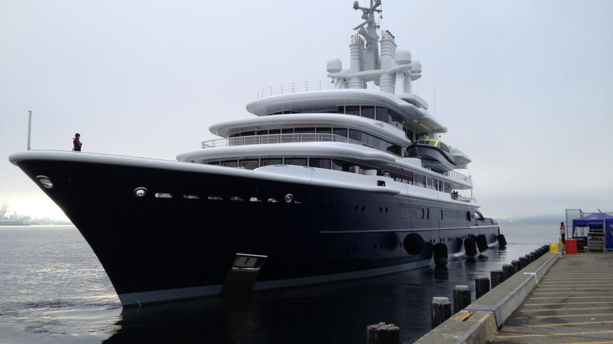 Here come the mega yachts: Owners want pickles, soy and