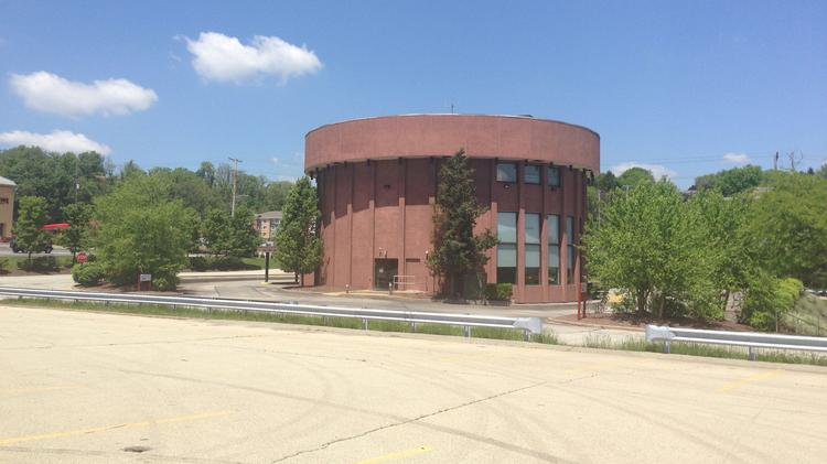 Allegheny Valley Bank branch in Wilkins Township, photographed May 24, 2014.
