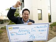 Nevap Inc. founder Benjamin Wang patented a device for intubated hospital patients that prevents ventilator-associated pneumonia, which is a major problem in hospitals. His company won the UC Davis Big Bang! business contest and $10,000.