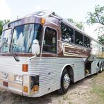 On the road again: Willie Nelson tour bus up for sale once more