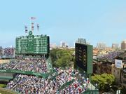 The Chicago Cubs today proposed adding as many as seven outfield signs at Wrigley Field as part of a five-year renovation plan.