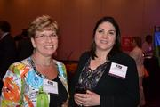Shawn Brenneman, left, and Ann Fedorchak, both of National Cooperative Bank.