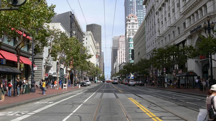 San Francisco's Market Street is getting a makeover — and city planners are using crowd sourcing to find a new aesthetic for the busy thoroughfare.