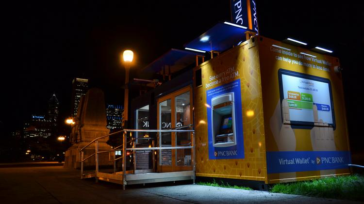 PNC hops on pop-up, brings mobile branch to Chicago.