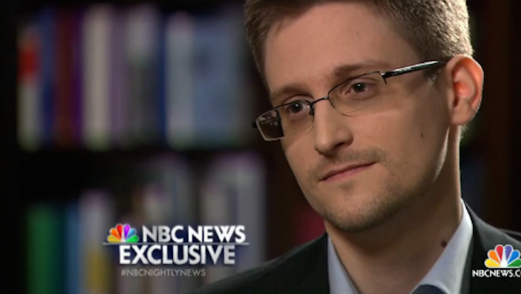 Edward Snowden, who leaked hundreds of thousands of top secret documents to the media, spoke to NBC's Brian Williams Wednesday.