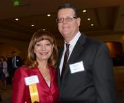 Women Who Mean Business honoree Julie Young of Florida Virtual School with husband Bruce