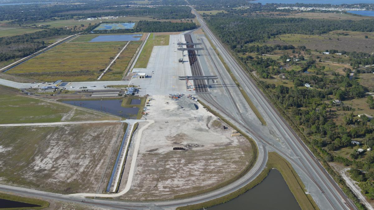 CSX intermodal facility in Winter Haven getting lots of looks from