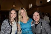 From left: Danielle Jimenes of Costa Communications joins Emily Morgan and Libby Wingard of Spectra Contract Flooring.
