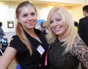Women Who Mean Business honoree Tara Crary (right) with daughter Brittany