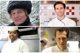 These four chef lend one of the smartest computers in the world a hand turning its culinary inventions into tasty meals.  Click through to begin slideshow.