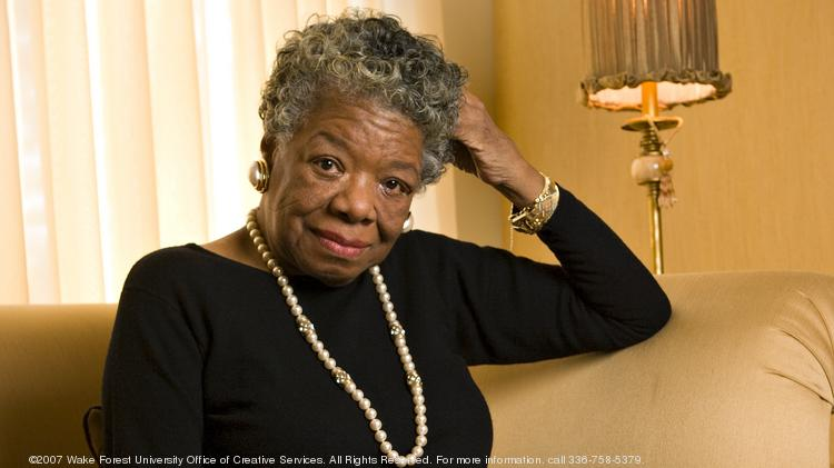 The renowned poet and activist Maya Angelou who died at age 86 was also the Reynolds Professor of American Studies at Wake Forest University. She's pictured here in her home in Winston-Salem. Click through this slideshow to see photos from her time at the university.