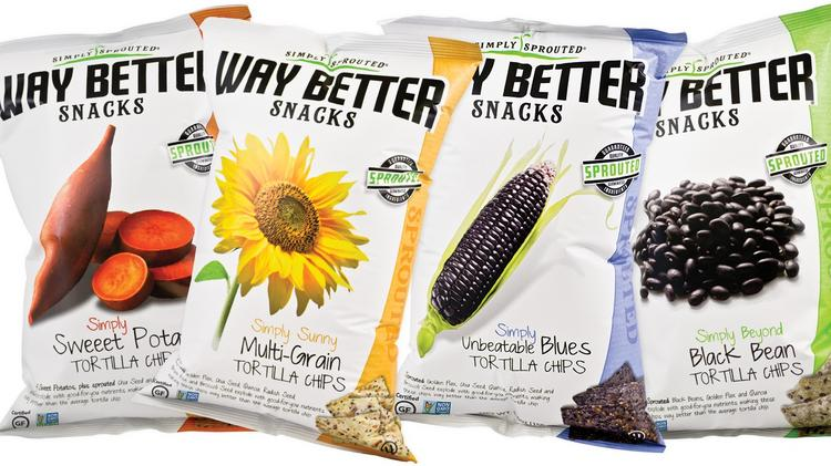 Live Better Brands of Minneapolis is the maker of Way Better Snacks, which includes tortilla chips.