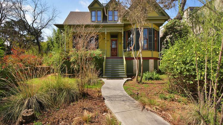 The Queen Anne-styled Victorian cottage at 1208 Newning St. in South Austin has been restored to its 1880s glory by Austin musician Melanie Martinez.