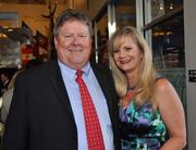 Rob and Virginia Snyder Hink of The Spinnaker Group, the winner for 1-25 Employees.
