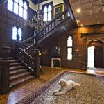 Step inside <strong>Kelly</strong> <strong>Porter</strong>'s castle — expansive gardens, cherub chandeliers, wine cellars and Dude the dog