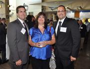 Jim McDade, Mareen Bruner and Scott Hughes of finalists Toll Brothers Florida East Division.