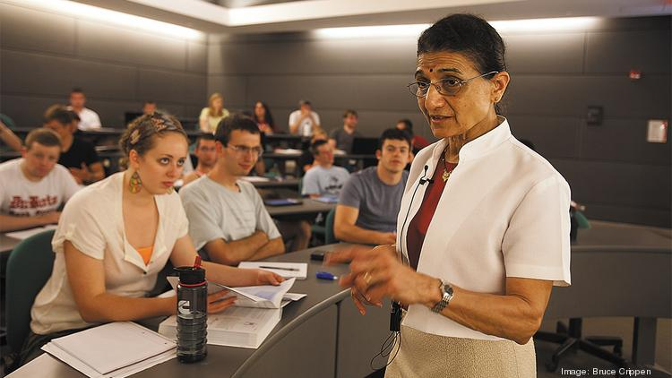 """""""Women bring a different perspective,"""" said Urmila Ghia, professor of mechanical engineering at UC."""
