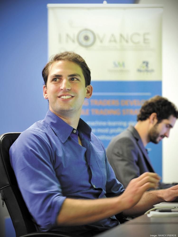 Inovance co-founders Tad Slaff, CEO (foreground) and Justin Cahoon, COO