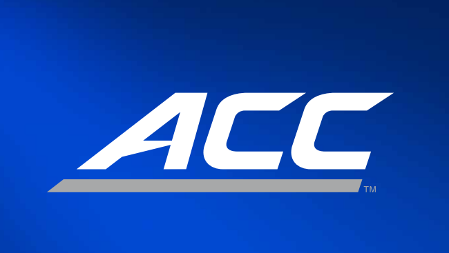 The Atlantic Coast Conference officially unveiled a new logo and brand Thursday that features a custom-designed font.