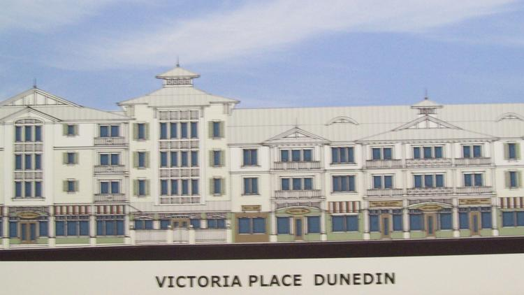 A rendering of Victoria Place Dunedin.