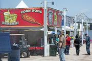 Lemon shakes and corn dogs always are popular selections at the Chow Wagon.
